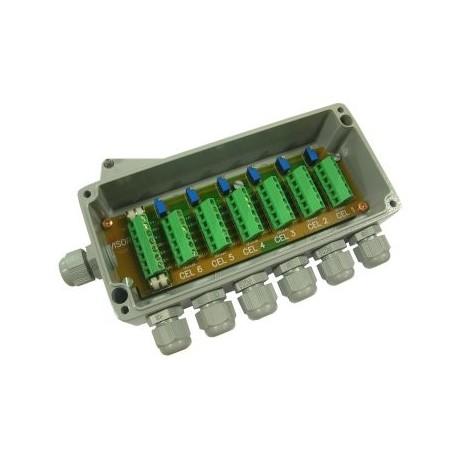 Cutie Jonctiune IP68 CAJA 6-RD