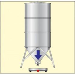 Dozarea unui  produs prin incarcare siloz
