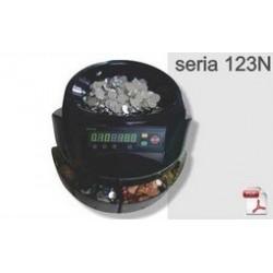 Masina de numarat monede Seria 123N