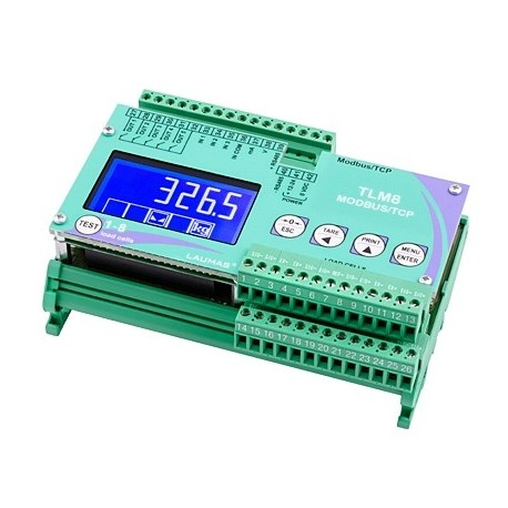 Transmitator  de  greutate  TLM8 MODBUS TCP