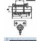 Celula load pin personalizata din inox LPB