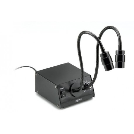 Stereomicroscop iluminat gat de lebada