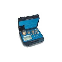 Set greutati etalon,inox, in cutie de plastic clasa M1 (343/344-4 )
