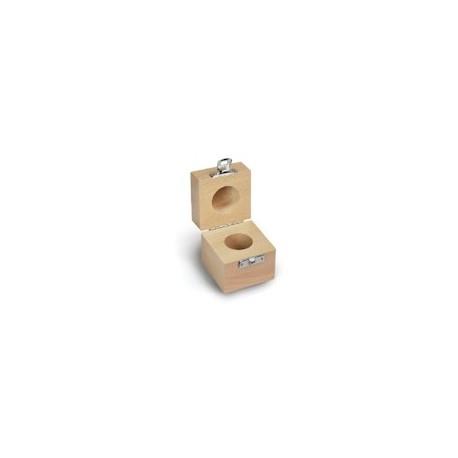 Cutie de lemn pt o singura greutate etalon