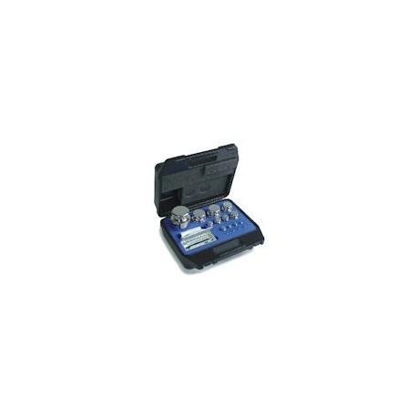 Set greutati etalon,inox, in cutie de plastic clasa F1 (323/324-4)